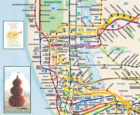 2nd avenue subway map map of the day a culinary subway ride second ave sagas