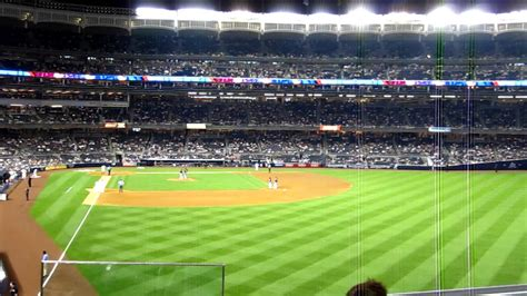 section 206 yankee stadium view from section 206 yankee stadium youtube