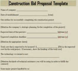 contractor bid template construction bid template microsoft excel templates