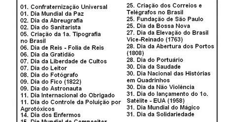 gamentos dos inativos do rio para maio de 2016 blog professor zezinho datas comemorativas de janeiro