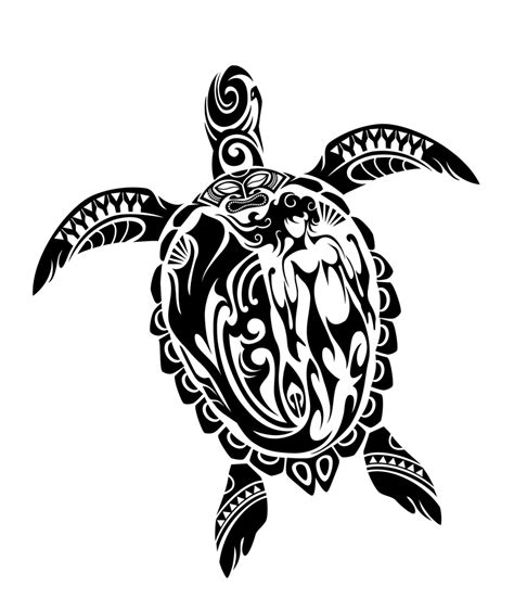 tribal sea turtle tattoo designs tribal sea turtle drawing www pixshark images
