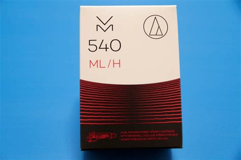 H Audio by Audio Technica Vm540ml H Dual Mm Tonabnehmer Microline
