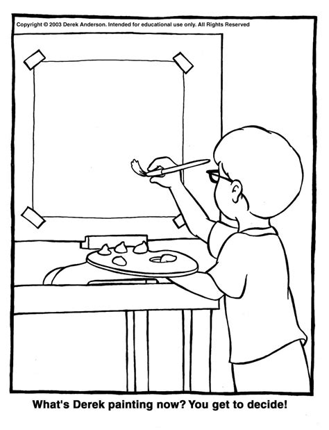 Painting Coloring Pages Coloring Pages Paint Coloring Pages