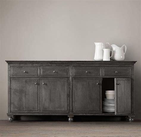 annecy metal wrapped  panel large sideboard sideboard