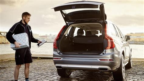volvo sweden address volvo rolls out in car delivery service in