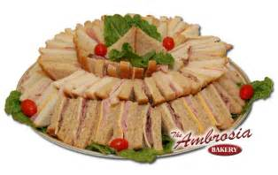 Pin sandwich party platters on pinterest