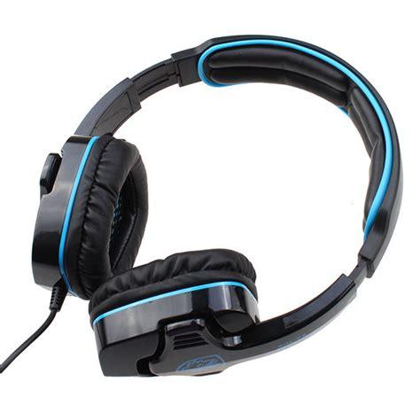 Headset Sades Sa 708 sades headset sa 708 7 1 surround gaming headphone usb headband pc laptop w mic ebay