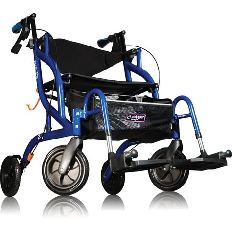Transport Walker Chair by Airgo Fusion Walker And Transport Chair Mobiliexpert