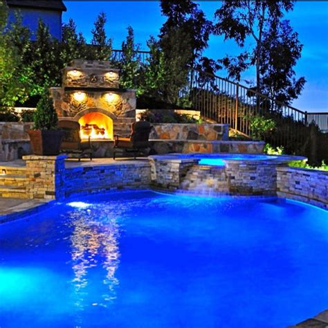 amazing backyard pool favorite places spaces pinterest