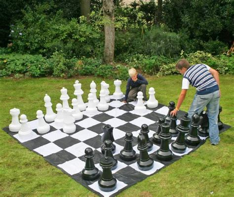 Unique Chess Pieces 18 giant yard games for your next bbq