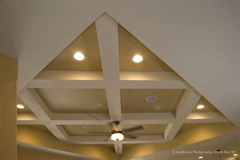 Criss Cross Ceiling Beams - 17 best images about living room updates on