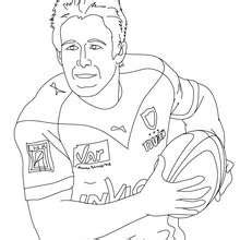Rugby League Colouring Pages Rugby Coloring Pages Kids Crafts And Activities Videos by Rugby League Colouring Pages