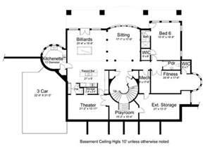 Home Floor Plans With Basement Vinius 8079 5 Bedrooms And 4 Baths The House Designers