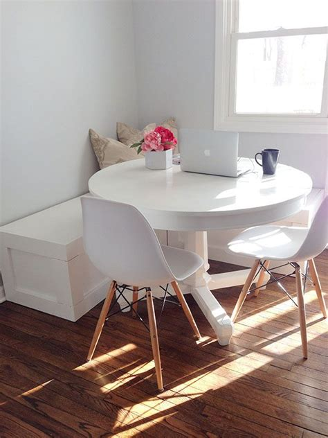 diy breakfast nook bench pin by roo payne on wine dine me pinterest