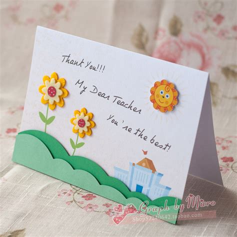 card supplies free delivery free shipping gift handmade greeting card three