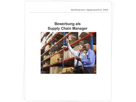Anschreiben Praktikum Supply Chain Management Supply Chain Manger Bewerbung Tipps Zu Anschreiben Und Lebenslauf