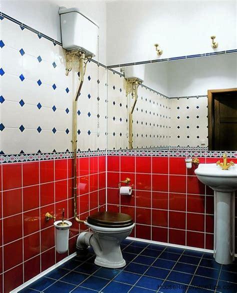 bagno piastrellato bagno piastrellato piastrelle colorate e decorazione
