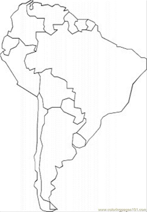 printable maps of south america coloring pages south america education gt maps free