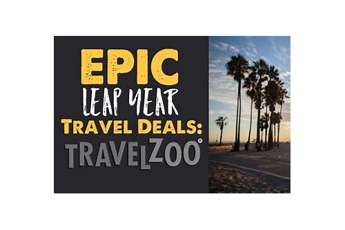 travelzoo leap year deals