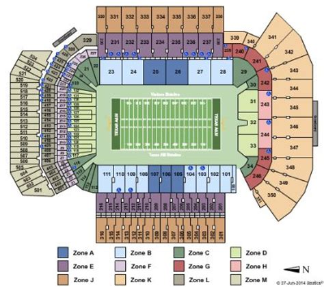 kyle field section map kyle field tickets and kyle field seating chart buy kyle
