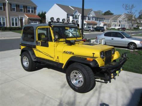 1989 Jeep Transfer Buy Used Restored 1989 Jeep Yj Wrangler New Motor