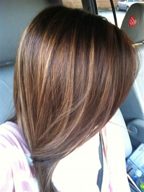 photos of colored hair with high lights of gray brown long hairstyle color ideas with highlight long