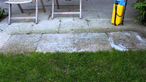 soda reinigung pflastersteine terrasse reinigen vier produkte im test newwonder555