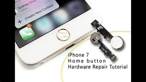 diy iphone 7 home button touch id hardware repair home und touch id reparatur