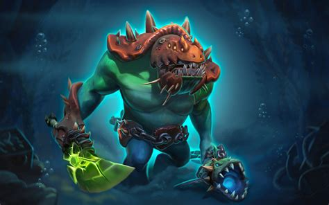 dota  heroes loading screen relics   drowning trench