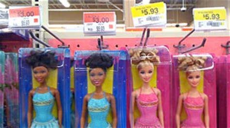 black doll vs white doll price walmart black sold cheaper than white at