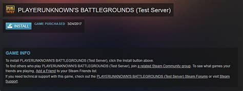 pubg servers playerunknown s battlegrounds public test server pts