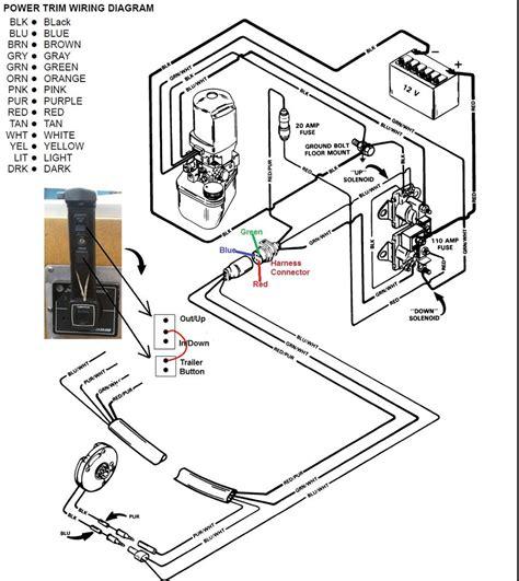 mercruiser trim wiring diagram motorcycle review