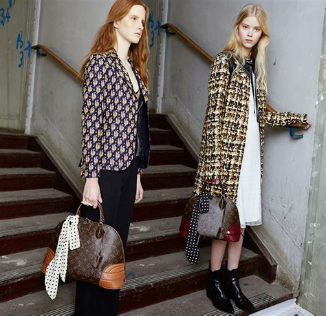 News Reworks The Classics For Louis Vuitton by Louis Vuitton Pre Fall 2015 Collection Fashionisers