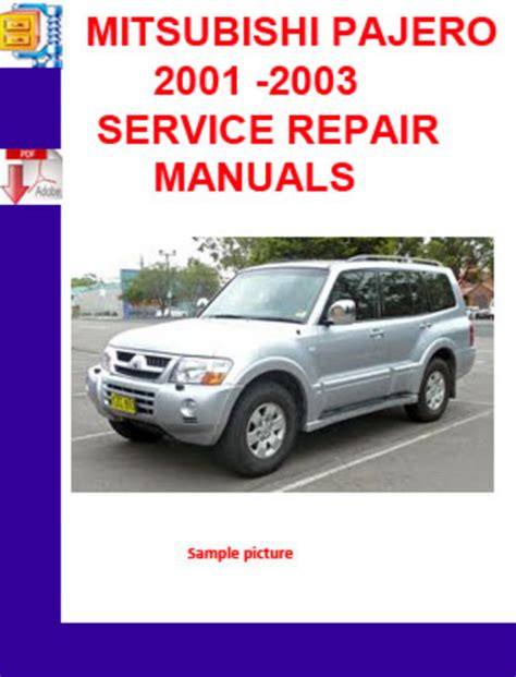 service and repair manuals 1997 mitsubishi pajero auto manual 1992 mitsubishi pajero free service manual download mitsubishi montero sport engine size