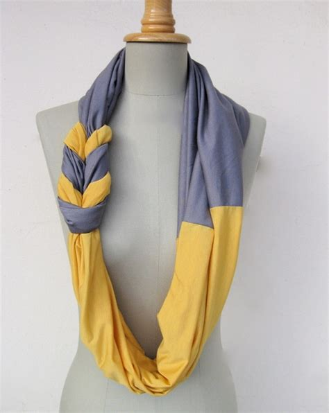 braided scarf made from t shirts diy