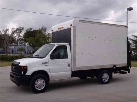 2011 used ford econoline commercial cutaway e350 5 4l v8 ford e350 econoline commercial cutaway 12ft box truck 2011 van box trucks