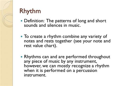 pattern rhythm definition elements of music there are several key elements of music