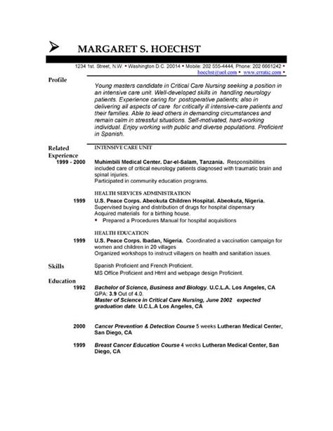 Security Resume Objective by Security Officer Resume Objective Sle