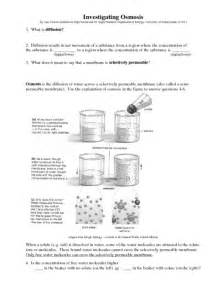 osmosis and diffusion worksheet abitlikethis