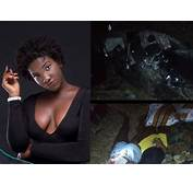 Highly Graphic Accident Scene Photos Beautiful Ghanaian
