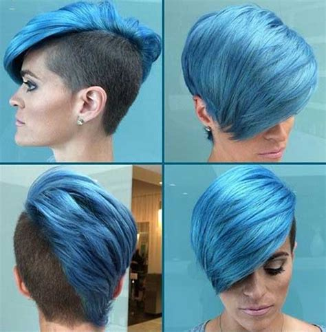 funky hair color ideas for older women 15 cool funky short hair styles short hairstyles 2017