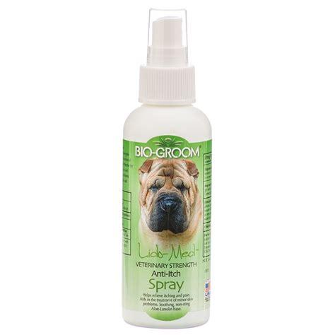anti itch for dogs bio groom bio groom lido med anti itch spray itch relief for dogs