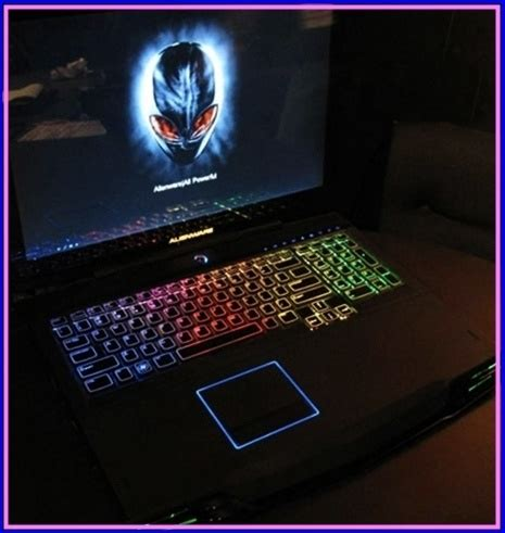 alienware keyboard themes download alienware m17x gaming laptop with glowing keyboard