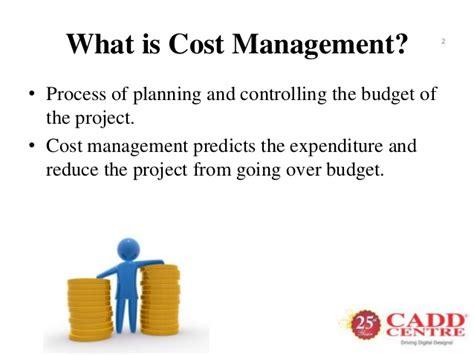 Cost Management Cost Management