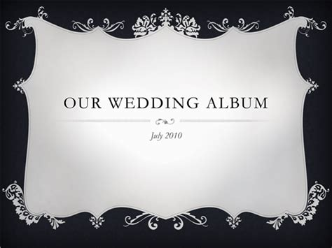 Beautiful Wedding Album Template Microsoft Powerpoint Template Ms Office Templates Microsoft Powerpoint Templates Wedding