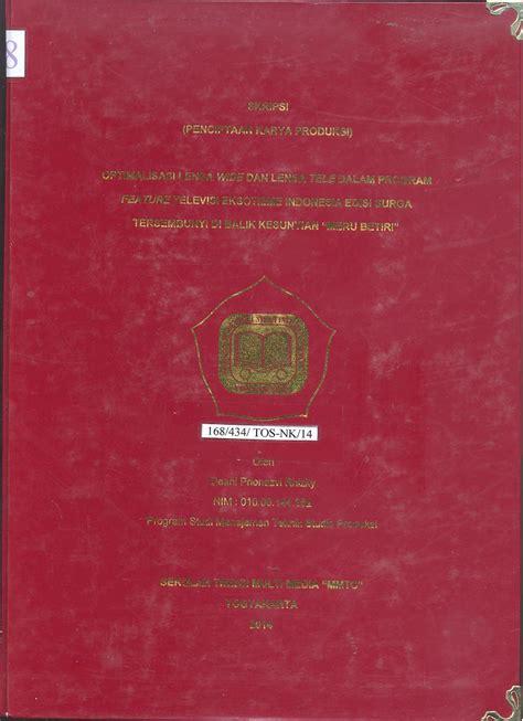 Buku Menjadi Produser Televisi Profesional Mendesain Program Televisi 1 sekolah tinggi multi media