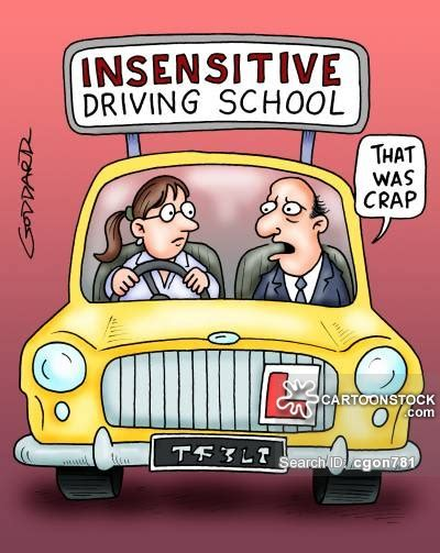 Driving School Meme - driving teachers cartoons and comics funny pictures from