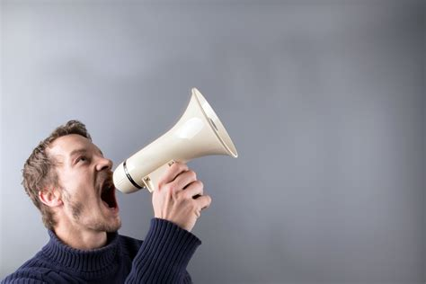 with pictures with a megaphone free stock photo domain pictures