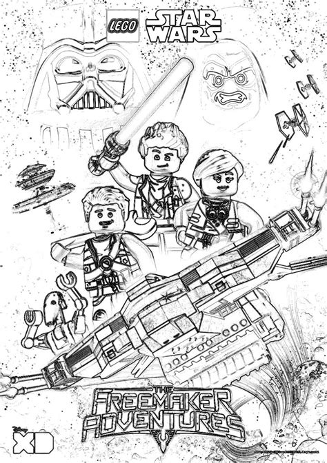 wars coloring lego wars coloring pages