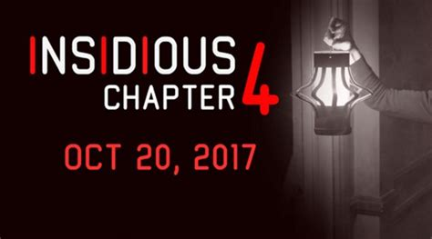 adam robitel wraps filming on insidious chapter 4 dread insidious chapter 4 release date 2017 2018 cast whatch